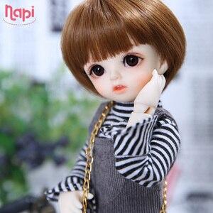 Image 1 - Napi Open eyed Karou BJD SD Doll 1/6 YoSD Body Model Baby Girls Boys Resin Toy High Quality Fashion Shop Luodoll Fixed teeth