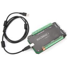 NVCM 4 оси ЧПУ контроллер MACH3 USB интерфейсная плата карты для шагового двигателя