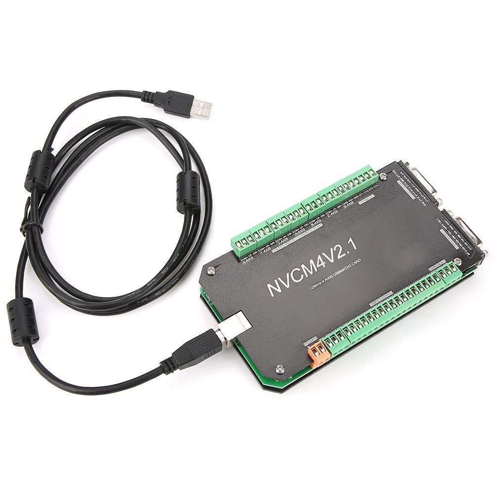 NVCM contrôleur de CNC 4 essieux MACH3 carte d'interface USB pour moteur pas à pas nouveau