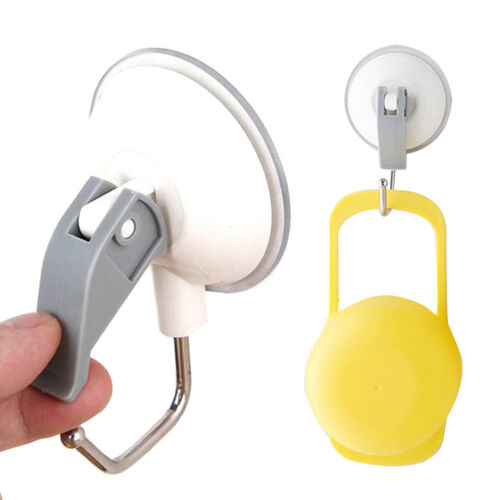 Suction Cups Window Glass Hooks Bathroom Kitchen Strong Towel Hanger Suckers