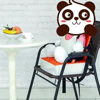High Quality Children Increased Pad Baby Booster Seat Cushion Adjustable Removable Kids Dining Chair With Buckle Strap