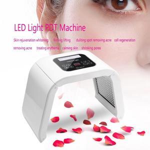 Image 3 - Professional Photon PDT Led Light Facial Mask Machine 4 Colors Acne Treatment Face Whitening Skin Rejuvenation Light Therapy