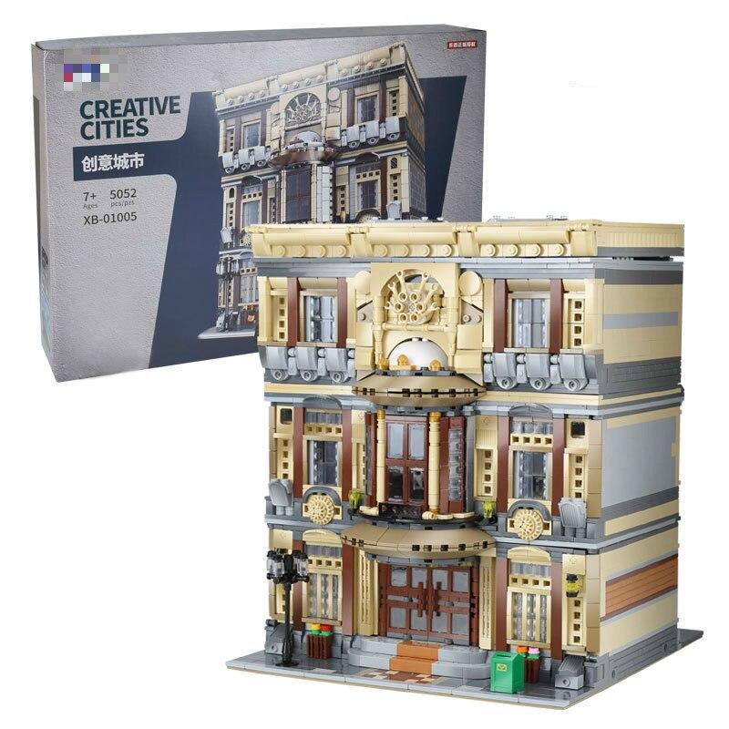 XingBao 01005 5052Pcs NEW Creative MOC City Series The Maritime Museum Set Children Building Blocks Bricks DIY Toys Model Gifts|Blocks|Toys & Hobbies - title=