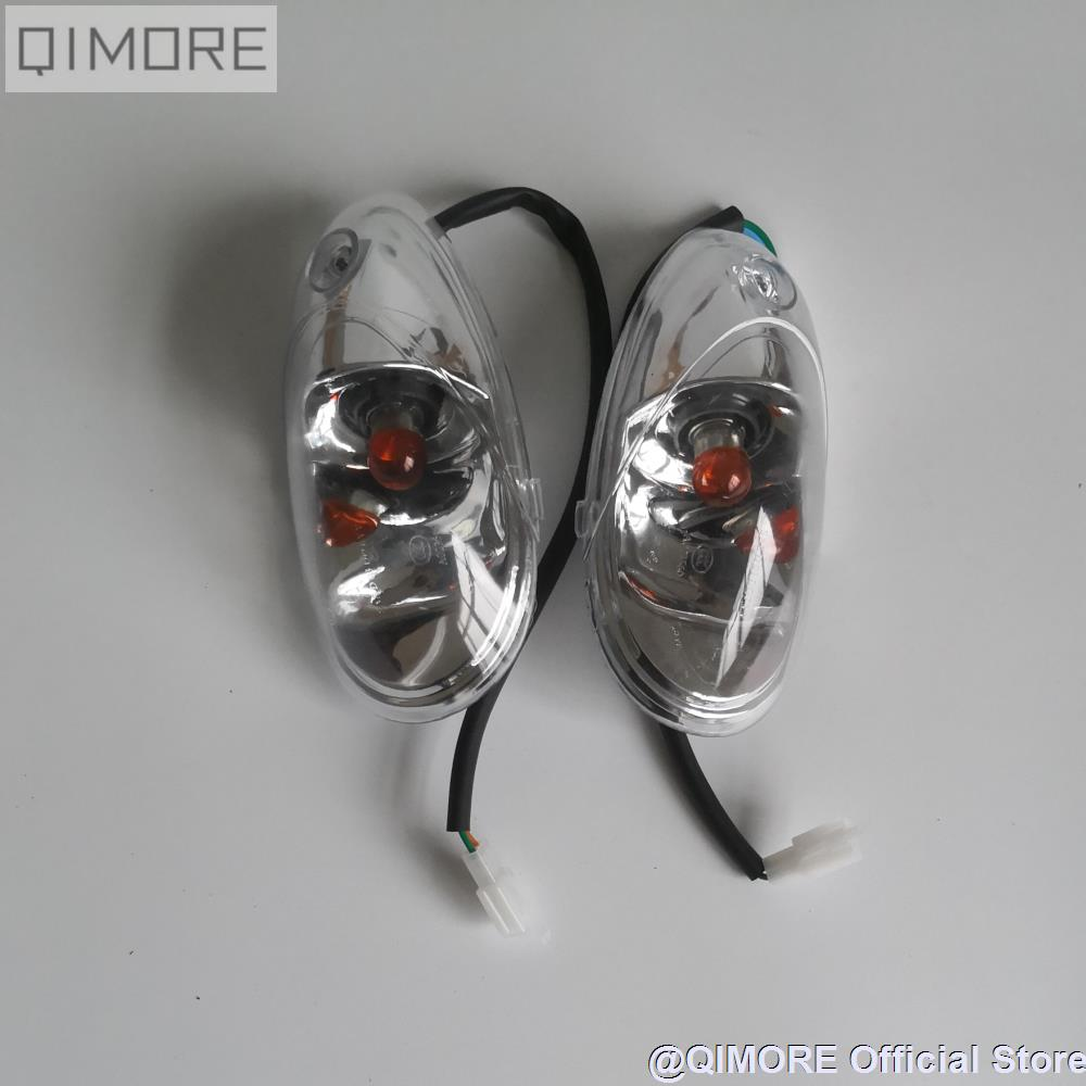 Front turnsignals   Turn Signals for Scooter Moped Roketa MC-54 250B Jonway Star 250 300 cc YY250T YY300T