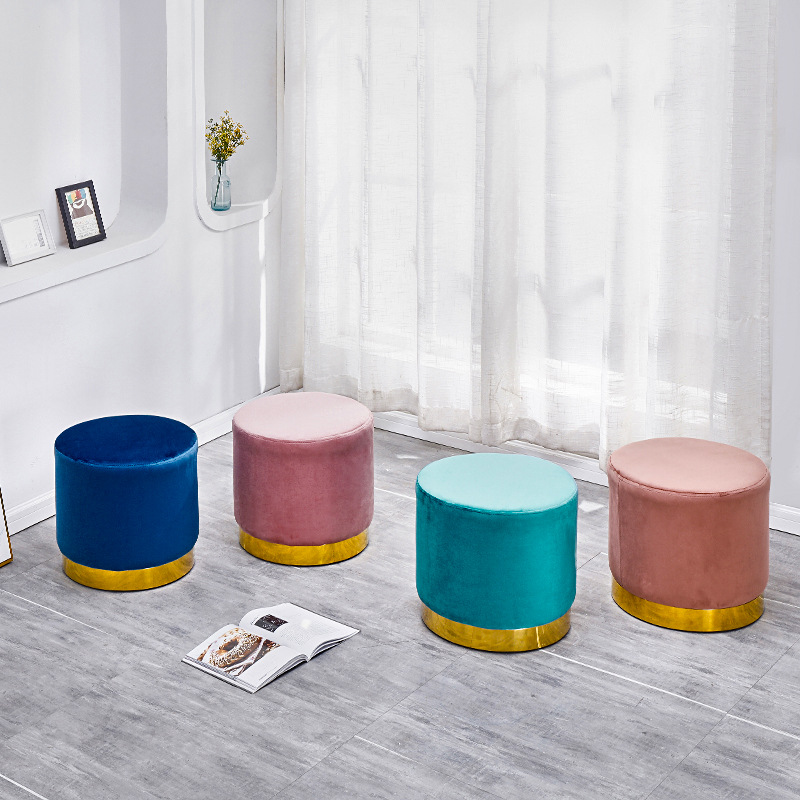 Nordic Small Footstool Cool Home Low Stool Personality