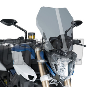 Motorcycle Sports Touring Windshield Viser Visor Wind Deflector WindScreen Fits For BMW F800R 2015-2019 F-800R 15'-19' F 800R(China)