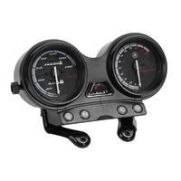 VODOOL 12V Motorcycle Speedometer Tachometer Fuel RPM Gauge Speed Mileage Display 5 pins 4 wires Instrument for Yamaha YBR 125