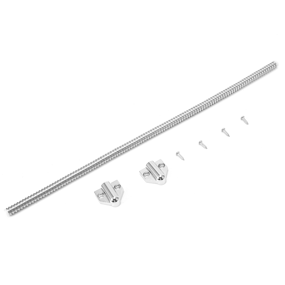 Brand New 1pc Exposed Mortise Mounting Wire Cable Protector Protect Wire Cable Long Door Loop With Screws Security Tools