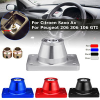1 Set Aluminium Alloy Short Shifter Shift Quick For Peugeot 206 306 106 GTI For Citroen Ax Saxo Silver Black Blue Red