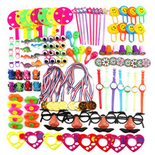 Assorted Gift Toys Giveaways Kids 120 Pcs Goodie Bags Carnival Prizes Festive Party Supplies Pinata Fillers