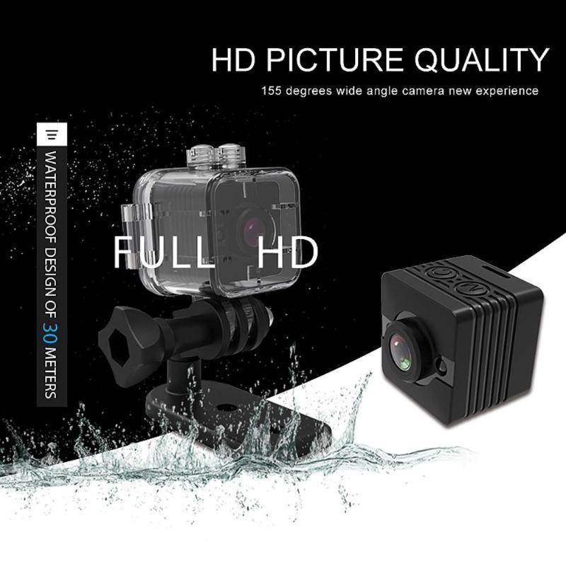 Bescheiden Sq12 Dv Kamera 1080 P Nachtsicht 30 M Wasserdichte Camcorder Dvr Motion Erkennung Video Recorder Sport Cam Neue Sport & Action-videokamera
