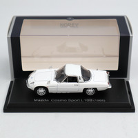 NOREV 1:43 Mazda Cosmo Sport L 10B 1968 White DIECASET Model Limited Edition Collection