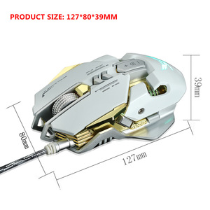 Image 5 - Mechanical Gaming Mouse Wired Macro Definition Freedom Set Up 7 Buttons 4 Level Adjustable DPI Max 3200DPI Professional USB Mice
