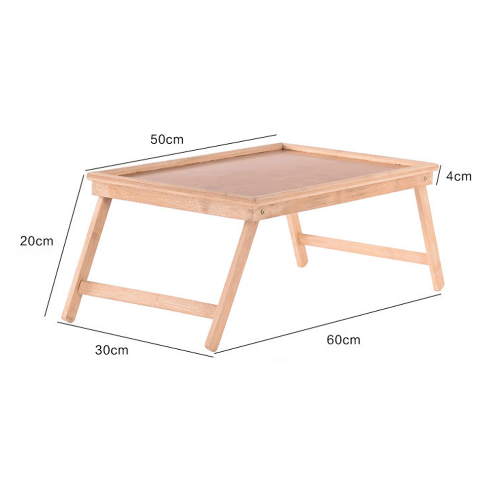 Image 5 - Multifunction Portable Bamboo Bed Laptop Desk Foldable Serving Table living room coffee table for Tea Study BreakfastCoffee Tables   - AliExpress