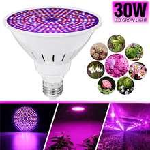 E27 светодиодный Grow Light лампы 30 Вт SMD2835 полный спектр растительная лампа набор для девочек, держащих букет невесты семена парниковых выращивание комнатных растений AC85-265V