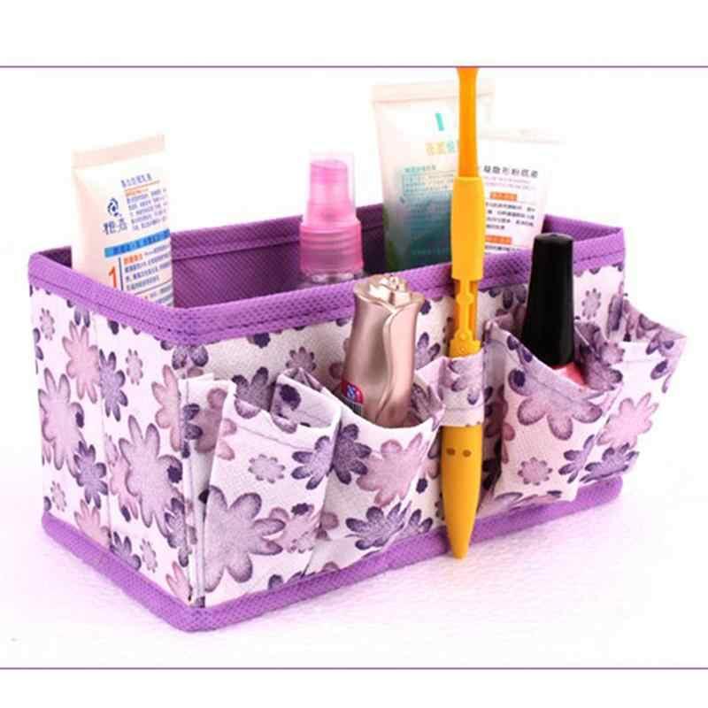 Vlies Klapp Weiche Multi-Funktionale Lagerung Boxen Tragbare Schublade Kommode Spielzeug Kosmetik Desktop Organisatoren Kinder Kindergarten Home