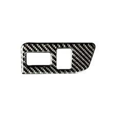 Dla Toyota 86 Subaru BRZ 2013 2014 2015 2016 2017 z włókna węglowego tylny włącznik bagażnika osłona przycisku tylko LHD