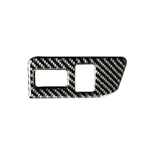 Image 1 - Dla Toyota 86 Subaru BRZ 2013 2014 2015 2016 2017 z włókna węglowego tylny włącznik bagażnika osłona przycisku tylko LHD