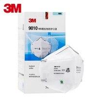 50pcs/box 3M 9010 N95 Protective Fold Masks Anti Dust Flu H1N1 PM 2.5 Multi Layer Filter Structure Industrial Fog enviroment