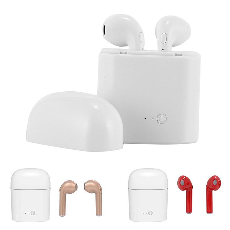 Multi-functional Bluetooth Enabled Device Universal Headsets Wireless Mini Sport Earphone in Ear Headset Voice Control