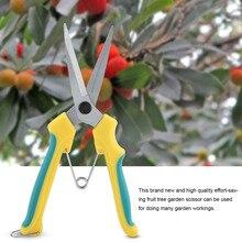 Обновленный секатор садовые ножницы Садоводство секатор для веток резак с пружина блокировки садовые ножницы Инструменты Горячие