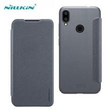 Nillkin for Redmi Note 7 Pro Note 7S 케이스 스파클 럭셔리 플립 가죽 백 커버 nilkin 전화 케이스 Xiaomi Redmi Note 7 capa