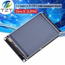 TZT Màn Hình LCD 3.2 Inch TFT Với Khả Năng Chống Màn Hình Cảm Ứng ILI9341 Cho STM32F407VET6 Ban Phát Triển Đen