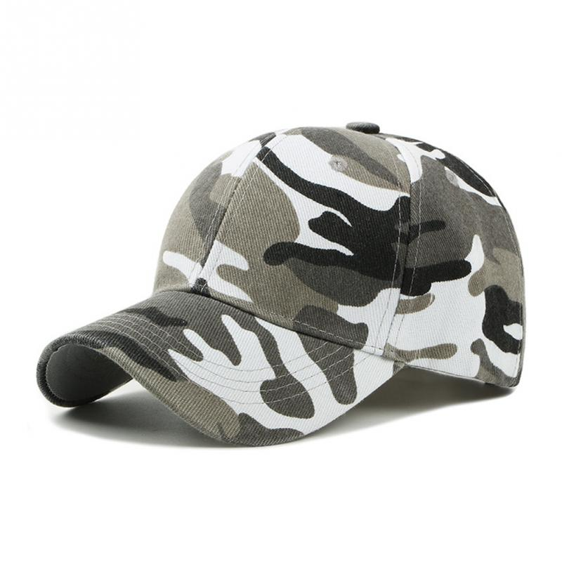 New Fashion Adjustable Unisex Army Camouflage Camo Cap Casquette Hat Baseball Cap Men Women Casual Desert