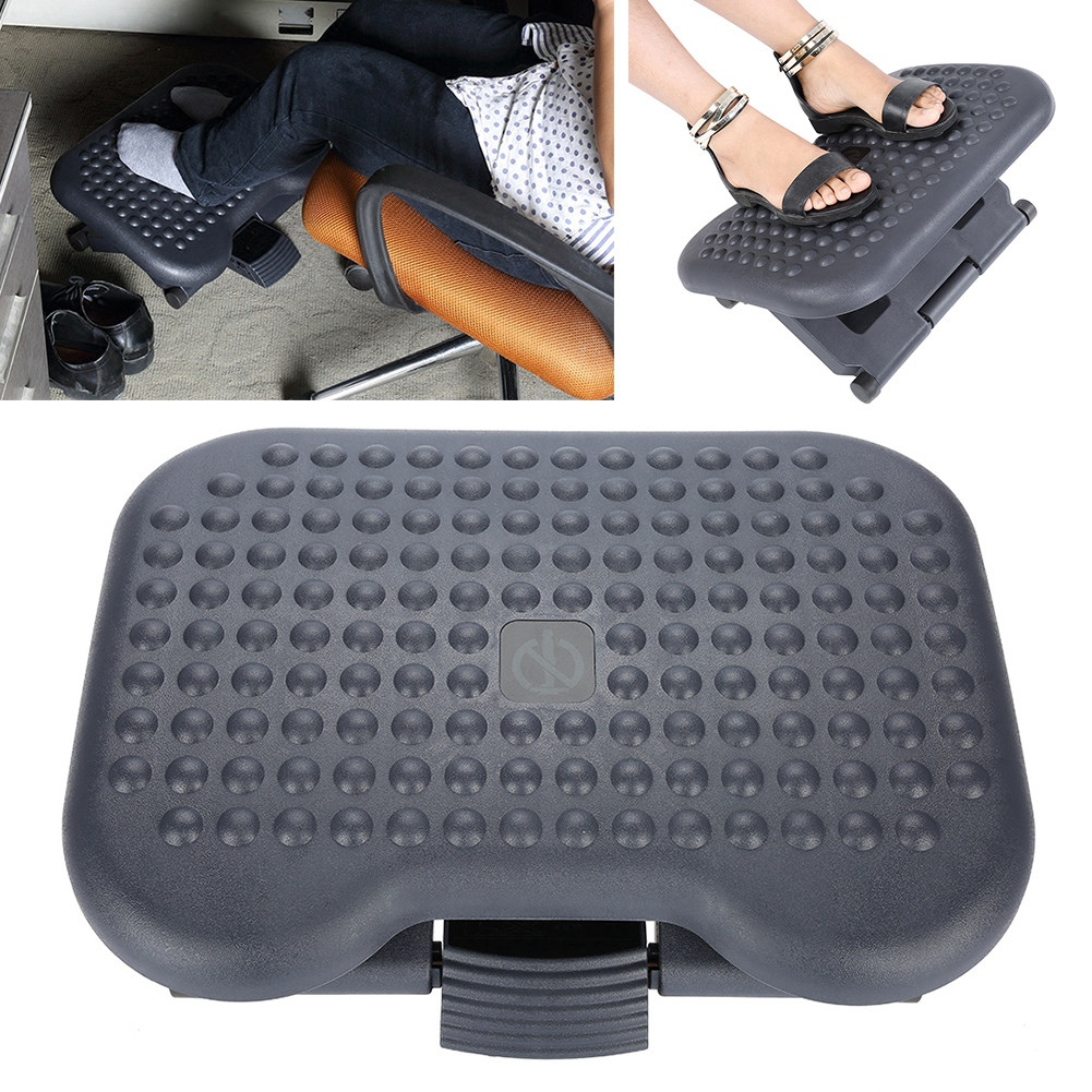 Cool Us 55 54 33 Off Adjustable Height Foot Rest Stool Ergonomic Portable Comfortable Under Desk Home Office Massage Relaxation In Massage Relaxation Machost Co Dining Chair Design Ideas Machostcouk