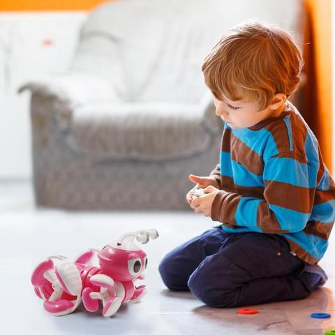 robo de brinquedo rc ant para figuras
