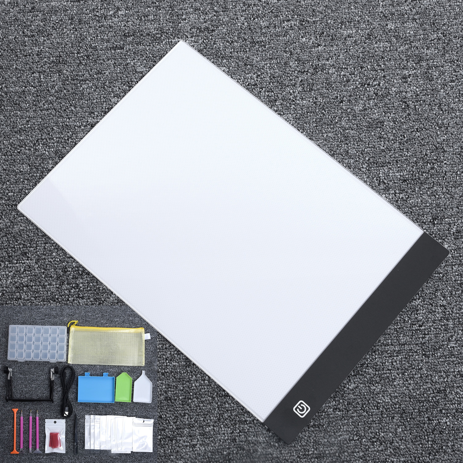 LED Light Pad Light Board Stand Holder 5D Diamond Embroidery Painting Kit Tools