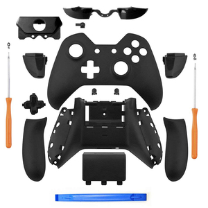 Image 1 - Nero opaco Controller Custodia Borsette Set Completo Faceplate Bottoni per Xbox One Controller Con il 3.5 millimetri auricolare Martinetti Xbox one
