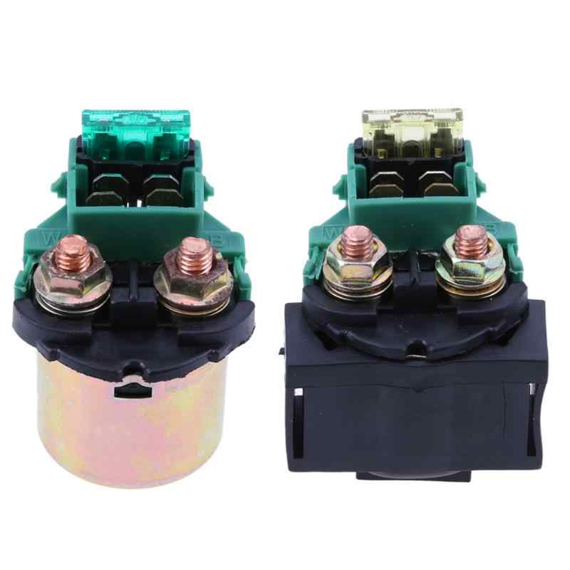 Motorcycle Starter Relay for Honda Kawasaki Ninja ZX11 Yamaha YF60 Auto Replacement Parts Interior Parts Switches & Relays New
