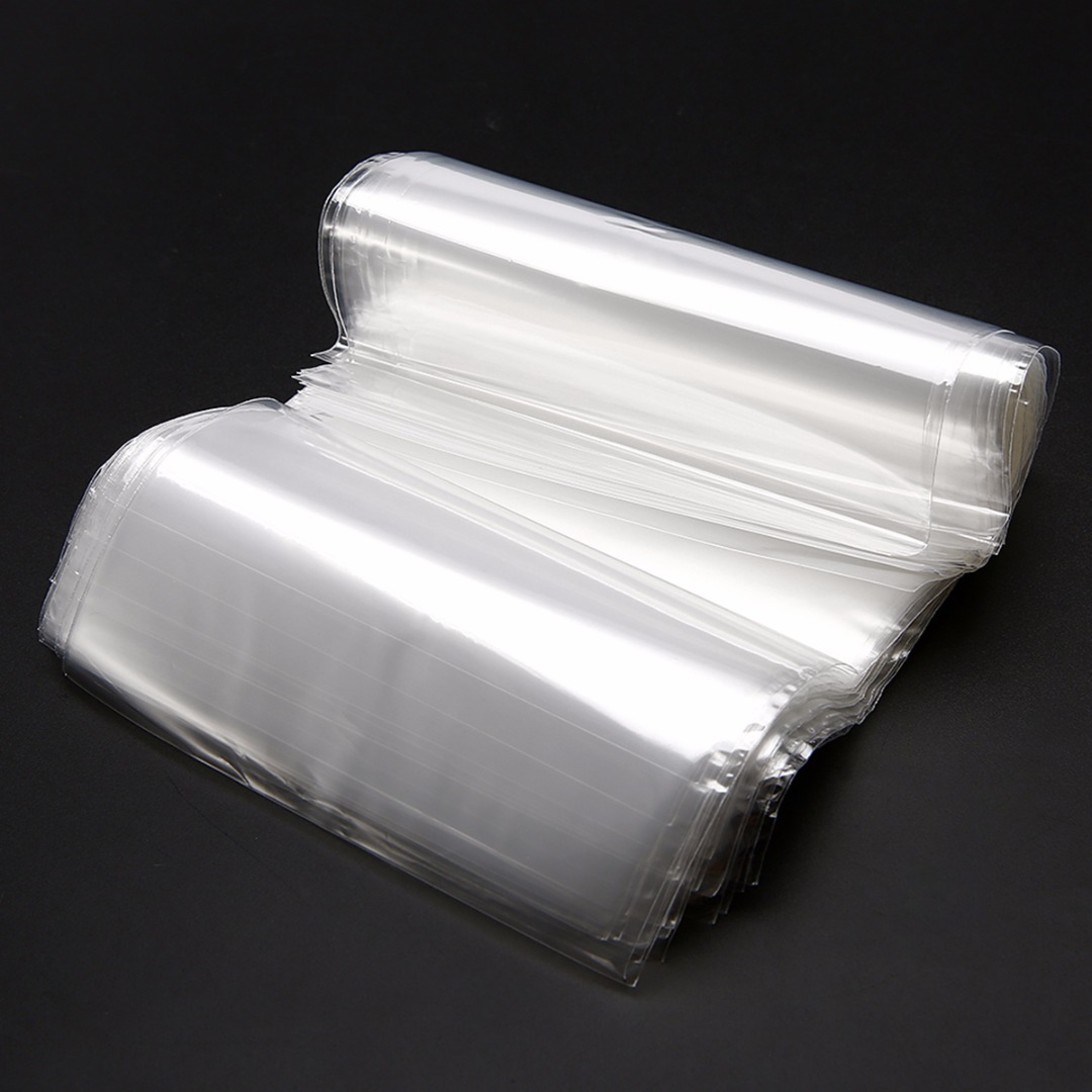 100Pcs Shrink Wrap Bags POF Transparent Shrink Wrap Film Bag Heat Seal For Gift Packing 100x160mm