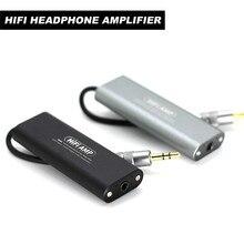 Artextreme SD05 מיני 3.5mm אוזניות אוזניות מגבר HiFi סטריאו אודיו AMP עבור טלפונים סלולריים Auto on/ off מגבר