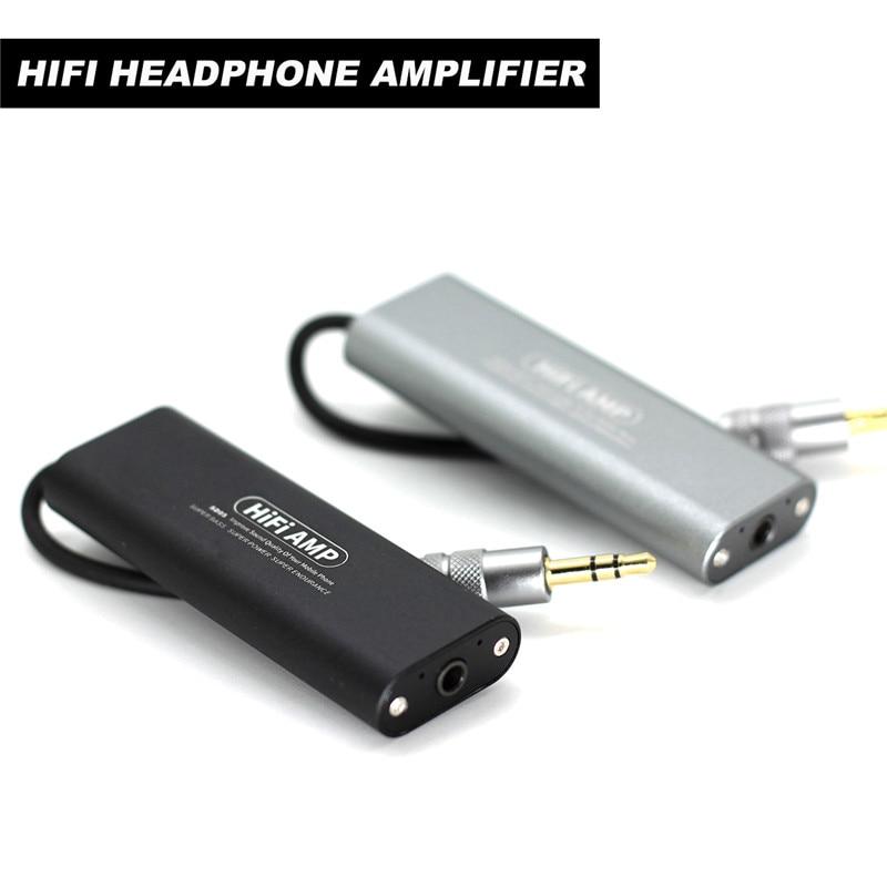 Artextreme SD05 Mini 3.5mm Headphone Earphone Amplifier HiFi Stereo Audio AMP For Cellphones Auto On/ Off Amplifier