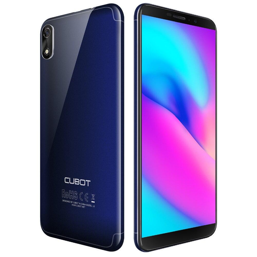 Cubot J3 Android GAAN Smartphones MT6580 Quad Core 5.0 Inch Mobiele Telefoon 1G RAM 16G ROM Dual Back camera 2000mAh 3G Mobiele Telefoons - 2