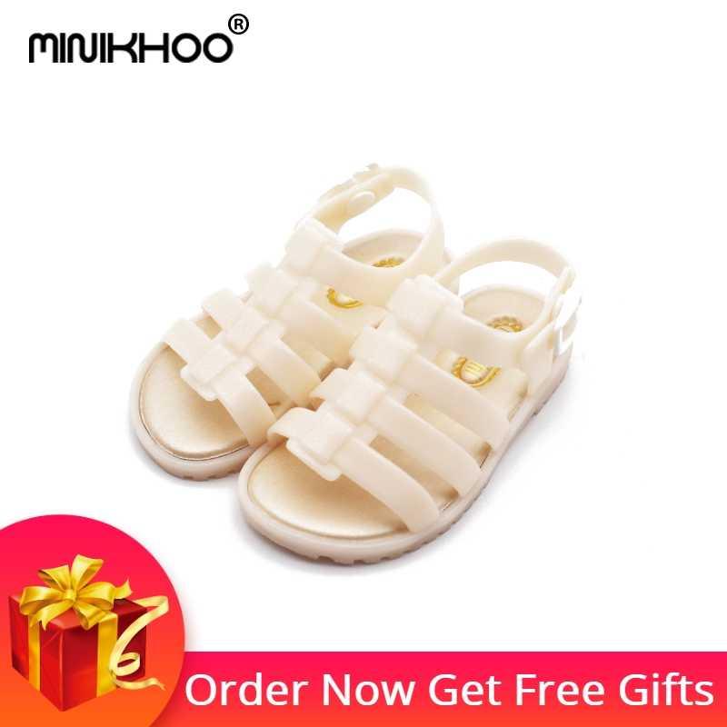 16a783c7d1b6 Mini Melissa Roman Girls Jelly Sandals 2018 New Melissa Girls Jelly Shoes  Shoes Children Shoes Breathable