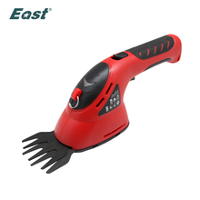 East garden tools 3.6V 2 in 1 Li-Ion Cordless Electric Hedge Trimmer Grass Trimmer Brush Cutter mini lawn mower factory selling