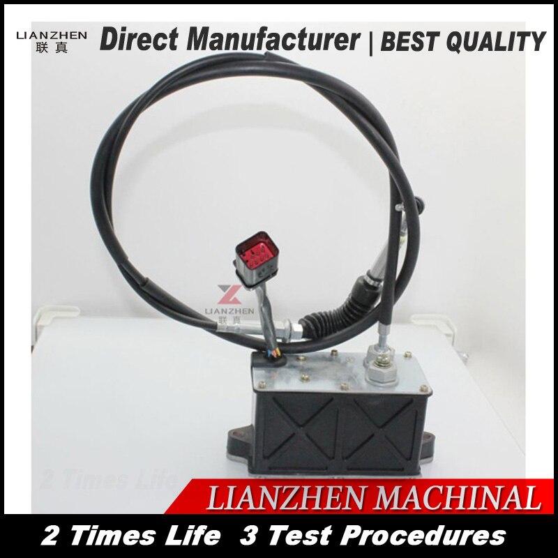 Peças de escavadeira E320C/D Motor/combustível Do Motor peças de Cabo de controle para o cabo do acelerador LIANZHEN Fabricante Direto