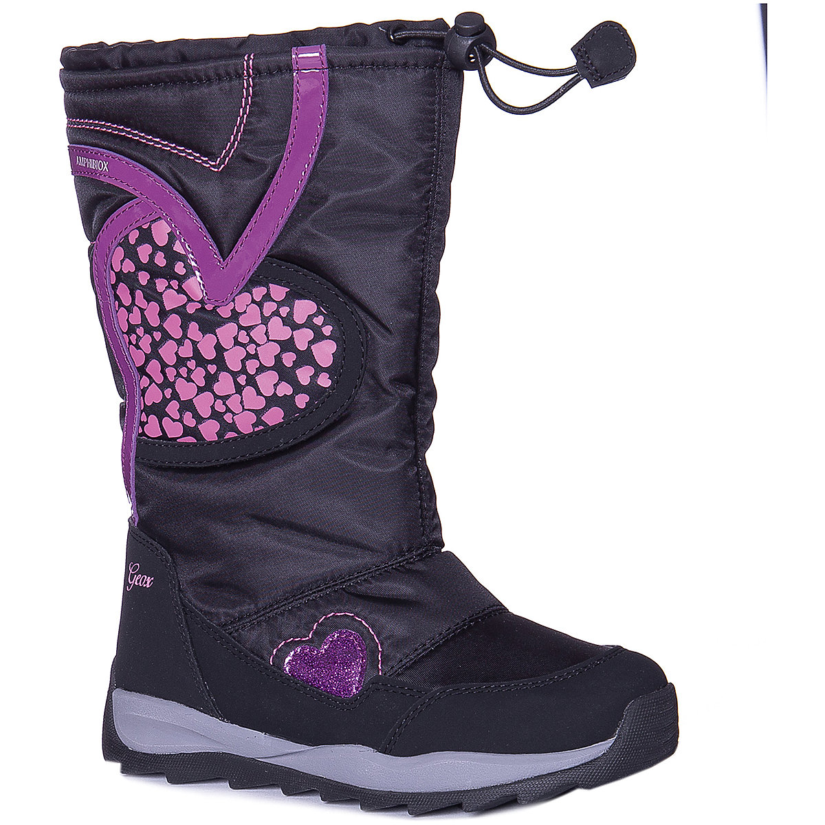 GEOX Boots 8786585 children shoes For girl Winter Girls faux fur geox boots 8786520 children shoes for girl winter girls faux fur
