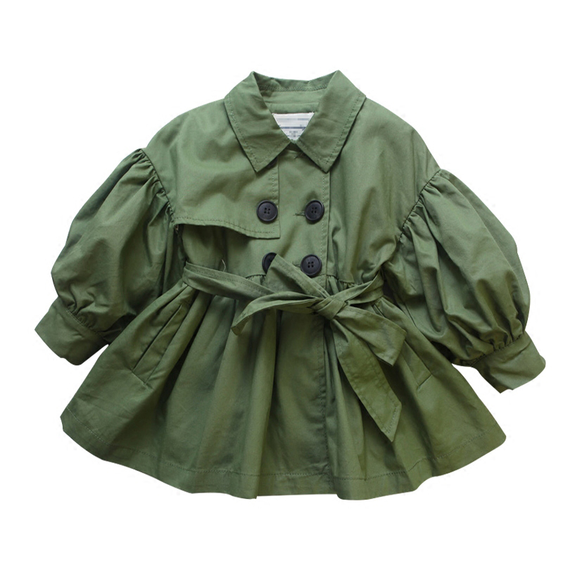 spring girl jackets girls outerwear coats green kids jacket toddler baby clothes fashion kids clothes