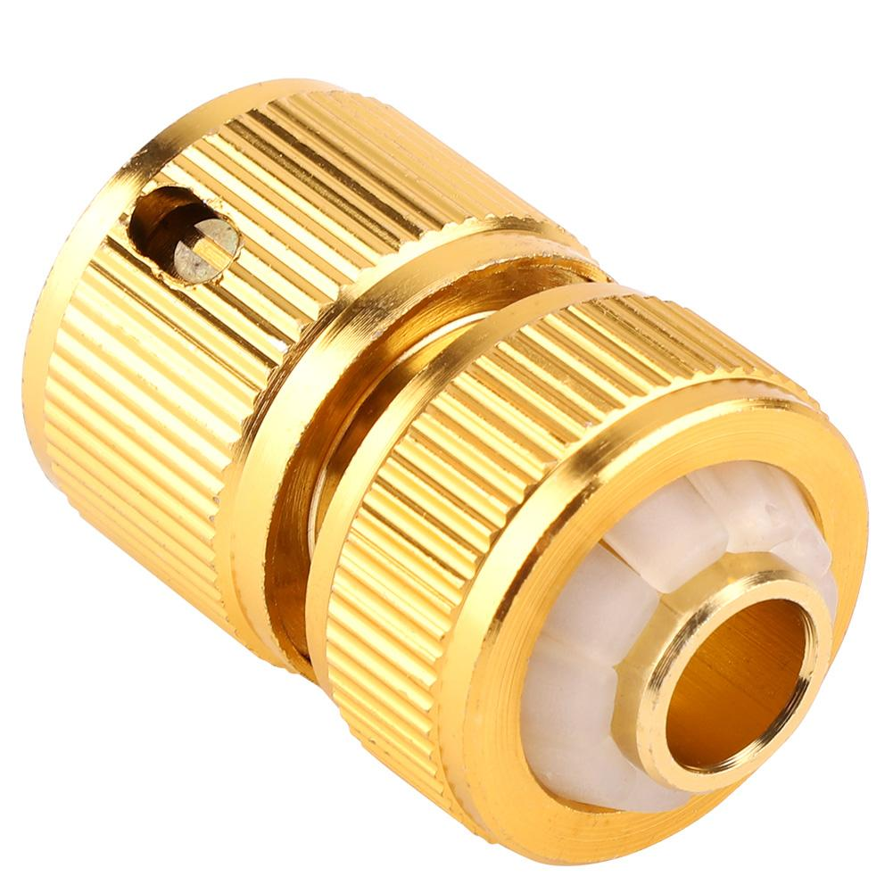 Hose-Tap-Connector Watering-Irrigation-System Threaded Garden-Water-Pipe Brass