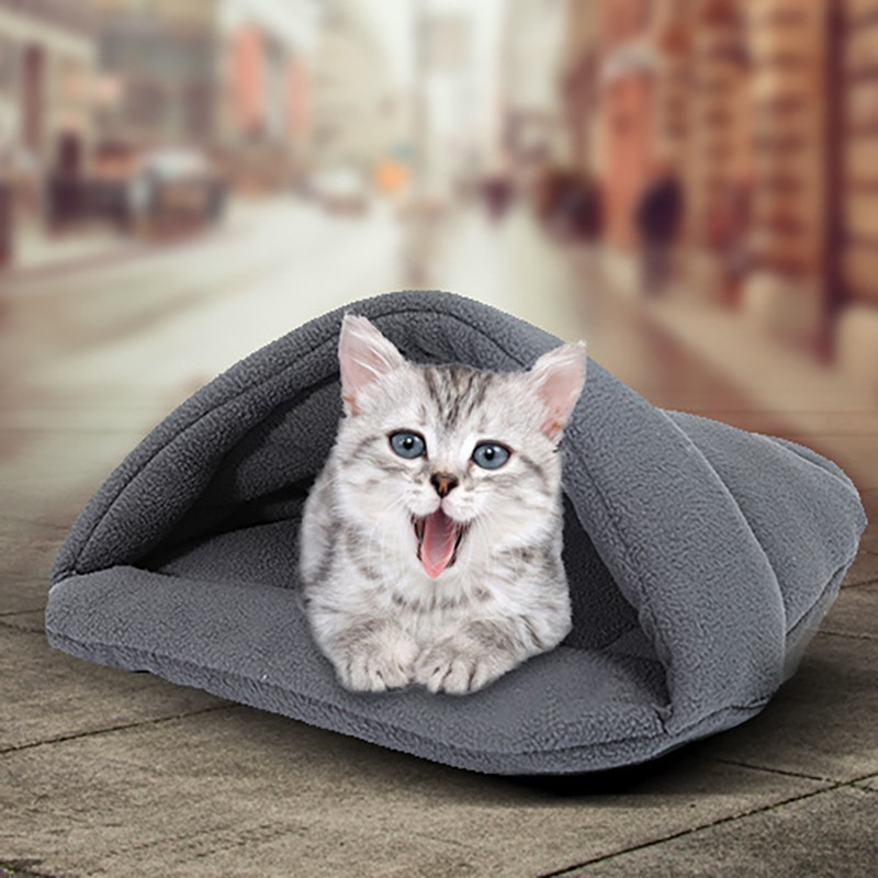 Benepaw 10 Colors Warming Cat Bed Hot Cozy Soft House Kitten Portable Winter Autumn Puppy Pet Xs S M L In Beds Mats From Home Garden On