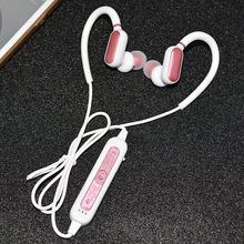 Fone de Ouvido portátil 4.2 Bluetooths Pluggable Gancho do Ouvido Fones de Ouvido Anti slip Sweat proof Hd Stereo Baixo Sports Dispositivos de Música fone de ouvido com Microfone