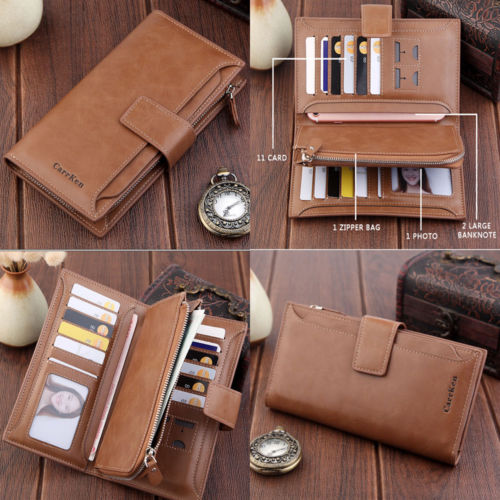 6 Color 2019 New Fashion Women Wallets Hasp Nubuck Leather Zipper Wallet Women's Long Design Purse Two Fold More Color Clutch