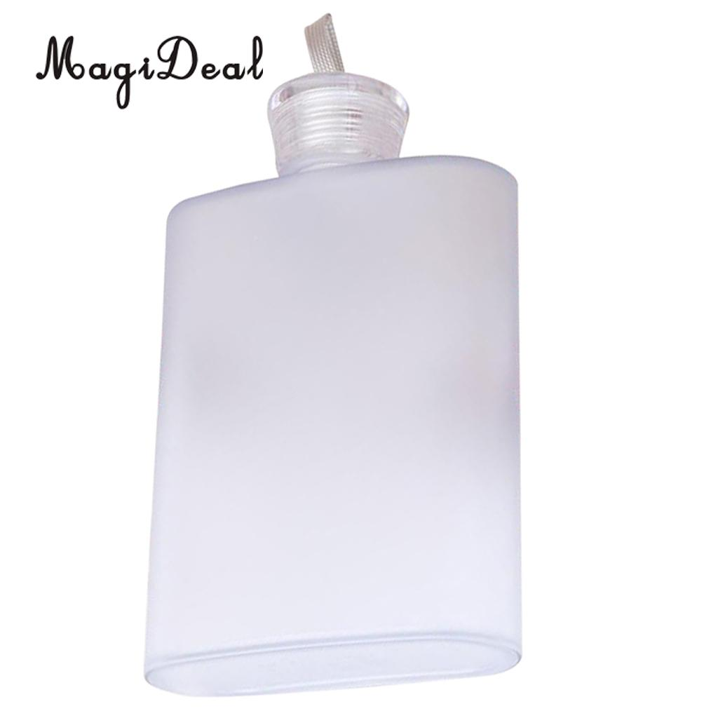 MagiDeal Plastic Hip Liquor Whiskey Alcohol Flask Cap Pocket Water Bottle plastic