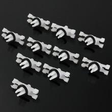 10 teile/satz für BMW E46 1998 2014 51138204858 51134501967 Top Dach Regen Gutter Moulding Trimmt Verschluss Clips