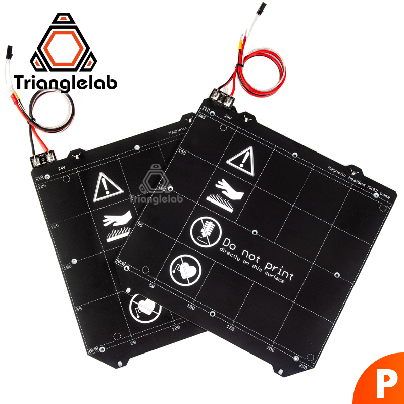 TriangleLAB PRUSA i3 MK3 MK2/2.5 Mk52 Chauffée Lit printemps plaque d'acier