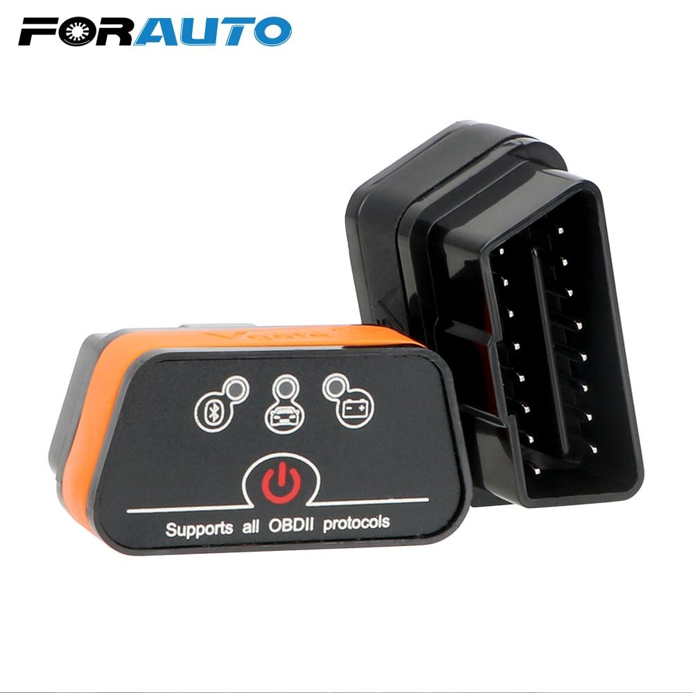 FORAUTO Car Diagnostic Tool Automotive Scanner Car Error Code Reader Icar2 OBD2 ELM327 V1.5 For Android Bluetooth Adapter